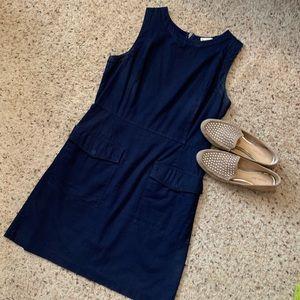 Gap Flap Pocket Sheath Dress